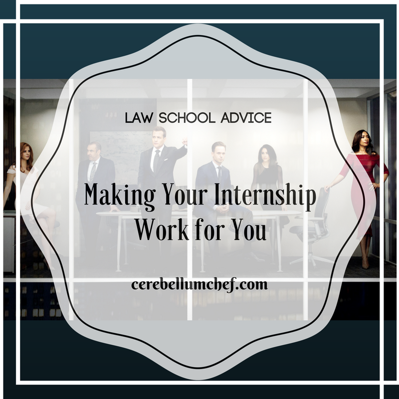 Getting the Most From your Internship